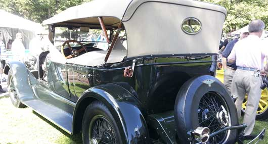 1923 Duesenberg Model A, Eric Killorin