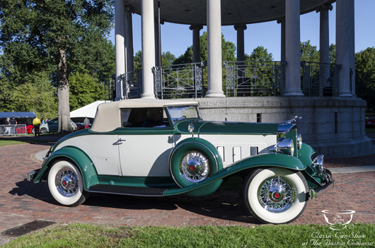 1932 Packard 900M Coupe Roadster, Heritage Museum & Gardens