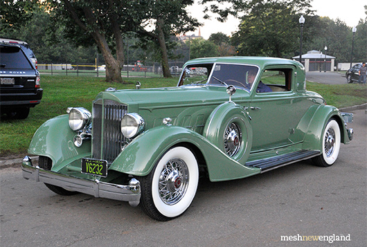 1934 Packard 1108 Dietrich Stationary Coupe, Samuel Lehrman