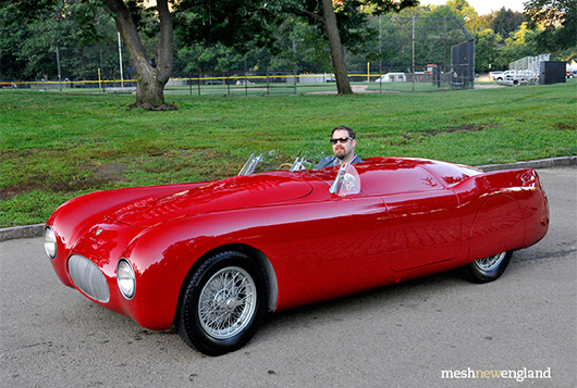 1947 Cisitalia Spyder Mille Miglia, Matthew Ivanhoe & The Cultivated Collector