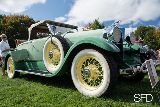 1930 Lincoln 191 Locke Sport Roadster, The Nau Family