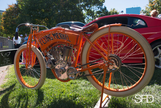 1912 Flying Merkel Twin Board-track Racer, Dick Shappy